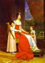 1808-1809 Julie Clary with childresn by Baron François Gerard (National Gallery of Ireland, Dublin Ireland)