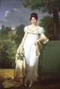 1808 Félicité-Louise-Julie-Constance de Durfort, Maréchale de Beurnonville by Merry-Joseph Blondel (auctioned by Stair Sainty)