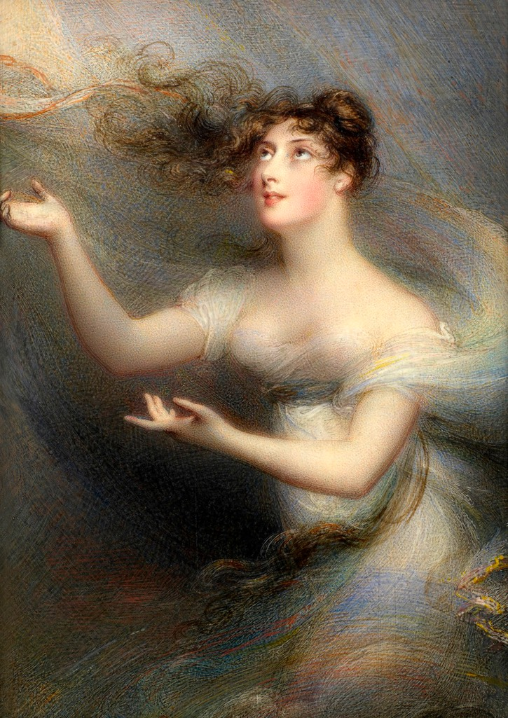 1812-1814 Anne Caulfield, Countess of Charlemont by Anne Foldsone Mee (Royal Collection) From liveinternet.ru/users/4945357/post298629422