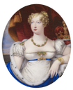 1814 Princess Charlotte Augusta by Joseph Lee (Royal Collection) From pinterest.com-melissamba-regency-portraits-