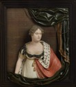 1814 Wax relief portrait of Princess Charlotte Augusta of Wales by Samuel Percy (National Portrait Gallery - London, UK) From tumblr.com:dashboard:blog:jeannepompadour