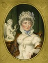 1816 Izabela Lubomirska z posążkiem Henryka Lubomirskiego by Carl Hummel de Bourdon (location unknown to gogm) Wm