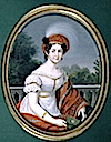 1816-1819 Catherine Pavlovna by Friedrich Fleischmann (private collection)