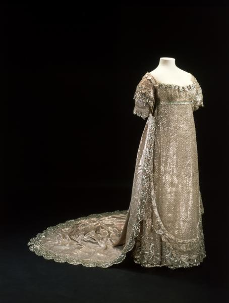1816 Princess Charlotte's wedding dress