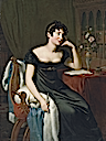 1818 Lady Sydney Morgan (1778-1859), Author by René Théodore Berthon (National Gallery of Ireland - Dublin Ireland)