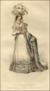1820 Lady Worsley's court dress La Belle Assemblée for July