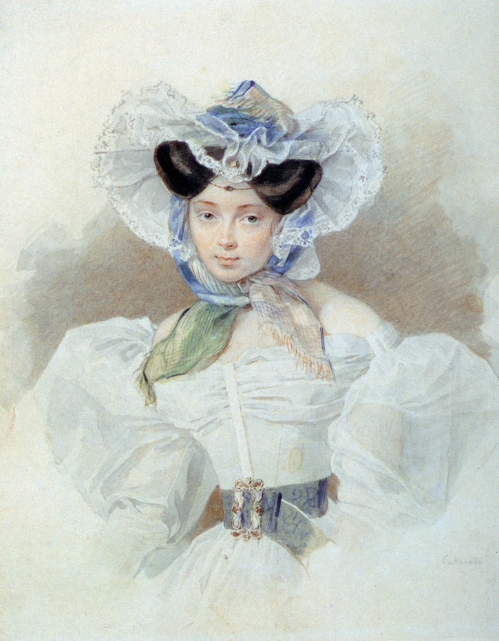 1820s (late) Princess Louise Trofimovna Galitzina by Petr Feodorovich Sokolov (location ?)