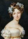 1822 Countess Elisaveta Ksaverevna Vorontsova by Frédéric Millet (location unknown to gogm) From jeannepompadour.tumblr.com/image/100702085795 fixed vertical flaw and cropped substantially