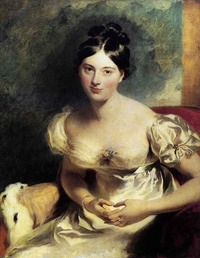 1822 Margaret, Countess of Blessington by Sir Thomas Lawrence (Wallace Collection - London UK)