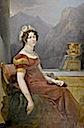 1822 Wilhelmine Charlotte, Countess of Münster by Peter Edward Ströhling (auctioned by Galerie Koller)