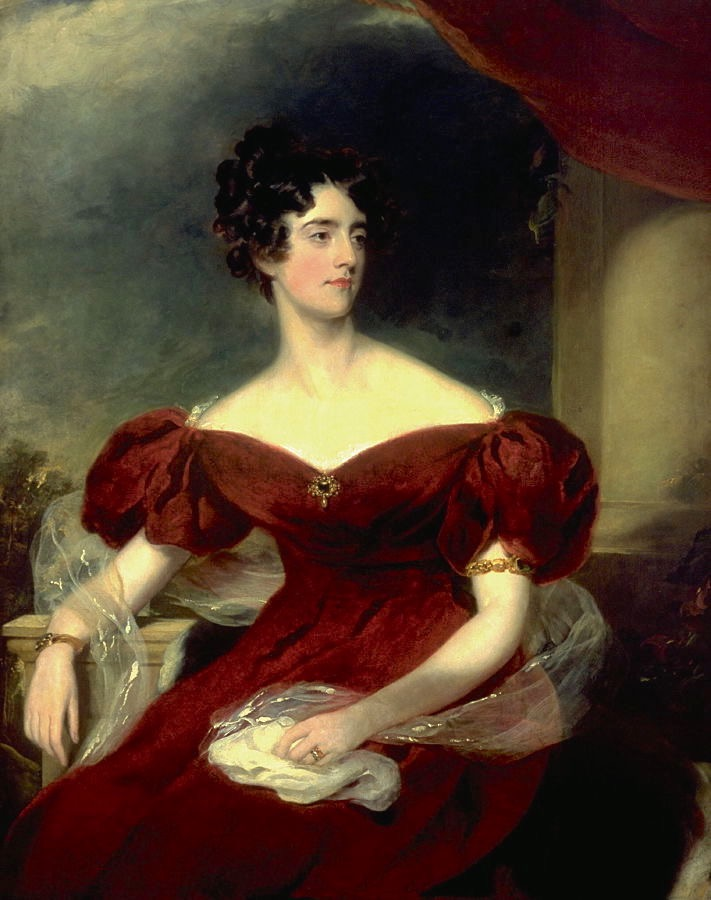 1823 Charlotte Georgina Jerningham, later Lady Lovat by Sir Thomas Lawrence (Fine Arts Museums of San Francisco - specific location unknown to gogm) #61225 From FAMSF site shadows inc. exp