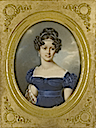 1823 Henrietta, Archduchess of Austria, Duchess of Teschen, née Princess of Nassau-Weilburg (1797-1829) by Friedrich Johann Gottlieb Lieder (auctioned by Sotheby's)