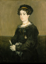 1824 Doña María Martínez de Puga by Francisco José de Goya y Lucientes (Frick Collection - New York, New York USA)
