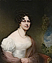1824 Caroline Hunt, née Isham by ? (Peterborough Museum & Art Gallery - Peterborough unitary district in Cambridgeshire UK)