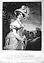 1824 (published) Princess Augusta Sophia print by Samuel William Reynolds after William Beechey