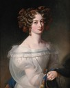 1828 Countess von Berchem by Franz Xaver Winterhalter or Joseph Karl Stieler (?) (Boris Wilnitsky)