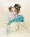 1829 Countess O. Orlova by Peter Feodorovich Sokolov (auctioned)