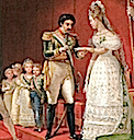 1829 Second marriage de S.M.I. D. Pedro I er by Jean-Baptiste Debret (location unknown to gogm) close up