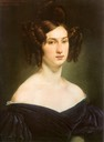 1830 Countess Luigia Douglas Scotti d'Adda by Francesco Hayez (private collection)