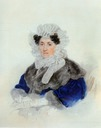 1830 Countess Elisabeth Alexievna Ostermann-Tolstoy, née Galitzina by Peter Feodorovich Sokolov (location unknown to gogm)