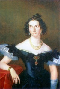 1830s Olga Naryshkina (née Potocki) by Nicolas-Sebastian Frost (location unknown to gogm)