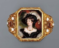 1834 Charlotte, Duchess of Northumberland by William Essex (auctioned by Christie's)