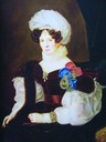 1835 Tatiana Golitsyna by Francois Nicholas Riss, another version