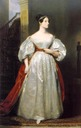1836 Ada Lovelace in court dress by Margaret Carpenter (UK Government Art Collection, Prime Minister's residence - 10 Downing Street, London UK)