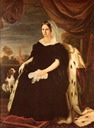 1836 Maria Antonia of Bourbon-Two Sicilies, Grand Duchess of Tuscany by Giuseppe Bezzuoli (Galleria d'Arte Moderna, Firenze Italy)