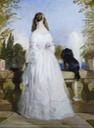 1839 Princess Victoire of Saxe-Coburg-Gotha by Sir Edwin Landseer (Royal Collection) From pinterest.com:val28110:paintings cropped X 1.5