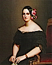 1841 María Cristina of the Two Sicilies by Franz Xaver Winterhalter (Versailles)
