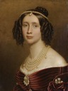1842 Maria Anna of Bavaria, Queen of Saxony by Joseph Karl Stieler (location unknown to gogm)