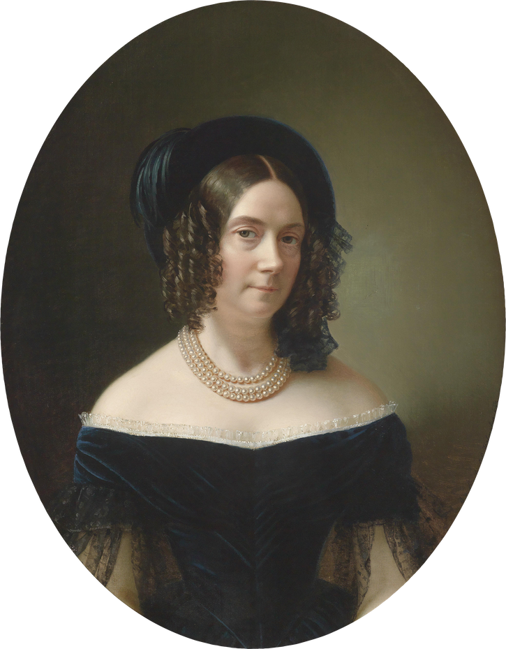 1843 Archduchess Dorothea, third wife of archduke Joseph Palatine of Hungary by ? (auctioned by Dorotheum) Wm