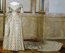 1844 Queen Jesefina's coronation dress (Royal Armoury, Skokloster Castle and The Hallwyl Museum - Stockholm Sweden)