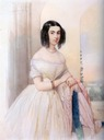 1844 Yelizaveta Tolstaya, née Tulinova by Vladimir Ivanovich Hau (location unknown to gogm)