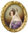 1846 Frederica, Duchess of Cumberland, Queen of Hanover by Alexander Schäfer (Royal Collection)