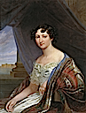 1846 Grand Duchess Anna Pavlovna by either Pimen Nikitich Orlov or Philip Botkin (location unknown to gogm)