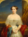 1848 Crown Princess Olga Nikolaevna by Nicaise de Keyser (Hermitage)