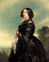 1849 Princess Augusta Wilhelmina Louisa of Hesse, Duchess of Cambridge by Franz Xaver Winterhalter (auctioned by Sotheby's)