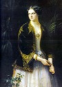 1850 Ekaterina Mikhailovna by Carl Timoleon von Neff (location unknown to gogm)