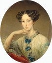ca. 1850 Grand Duchess Maria Alexandrovna by Christina Robertson (Hermitage)