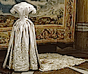 1850 Wedding dress of Louise of Sweden (Livrustkammaren, Royal Palace - Stockholm Sweden)