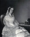 ca. 1850 La Comtesse Julie de Stroganoff by Natalia Anderson after a portrait by Steuben