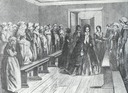 1852 (or later) Queen Anna Paulowna of the Netherlands visiting girls school she founded in 1852