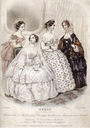 1854 Empress Sisi's wedding dress