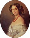 1854 Princesse Malcy Murat, née Mlle Berthier de Wagram by Franz Xavier Winterhalter (private collection) UPGRADE shadows From eho-2013.livejournal.com/81502.html