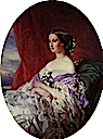 1854 Empress Eugénie by Franz Xaver Winterhalter (private collection)