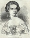 1854 Empress Sisi print by Smyth