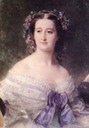 1855 Empress Eugénie from Eugenie and ladies by Franz Xaver Winterhalter