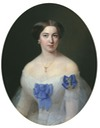 1855 Maid of honor, A. P. Alexandrova by Gavriil I. Yakovlev (location unknown to gogm)